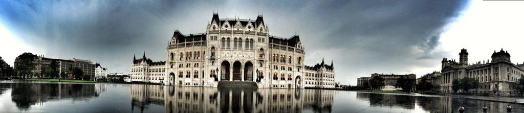 Budapešť v bouřce