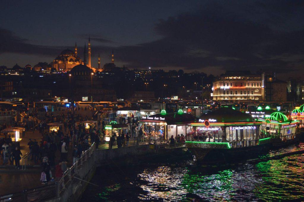 Ryba v chlebu - Istanbul