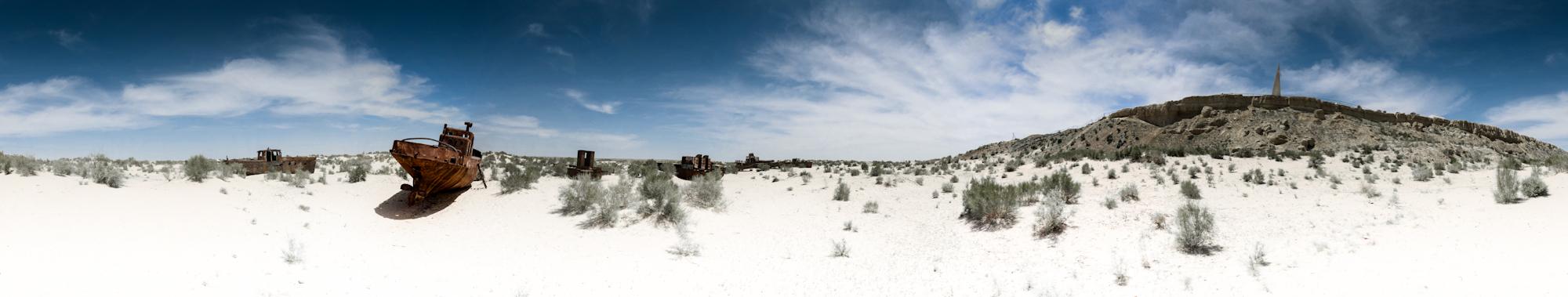 Aralské jezero - Muynak