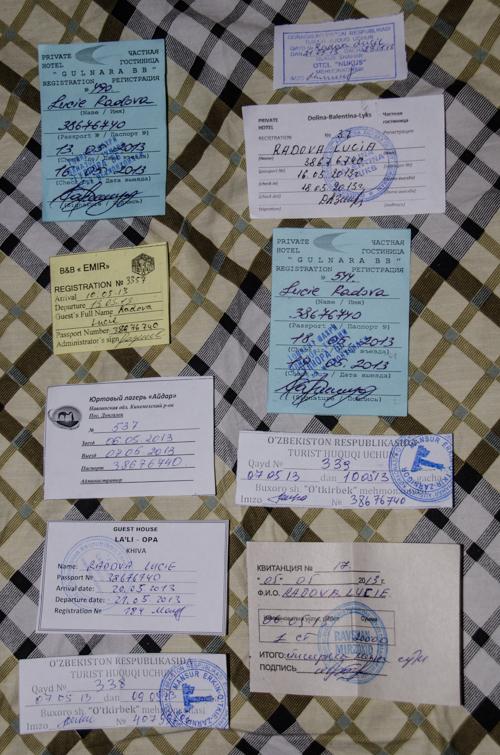 Registrace Uzbekistan