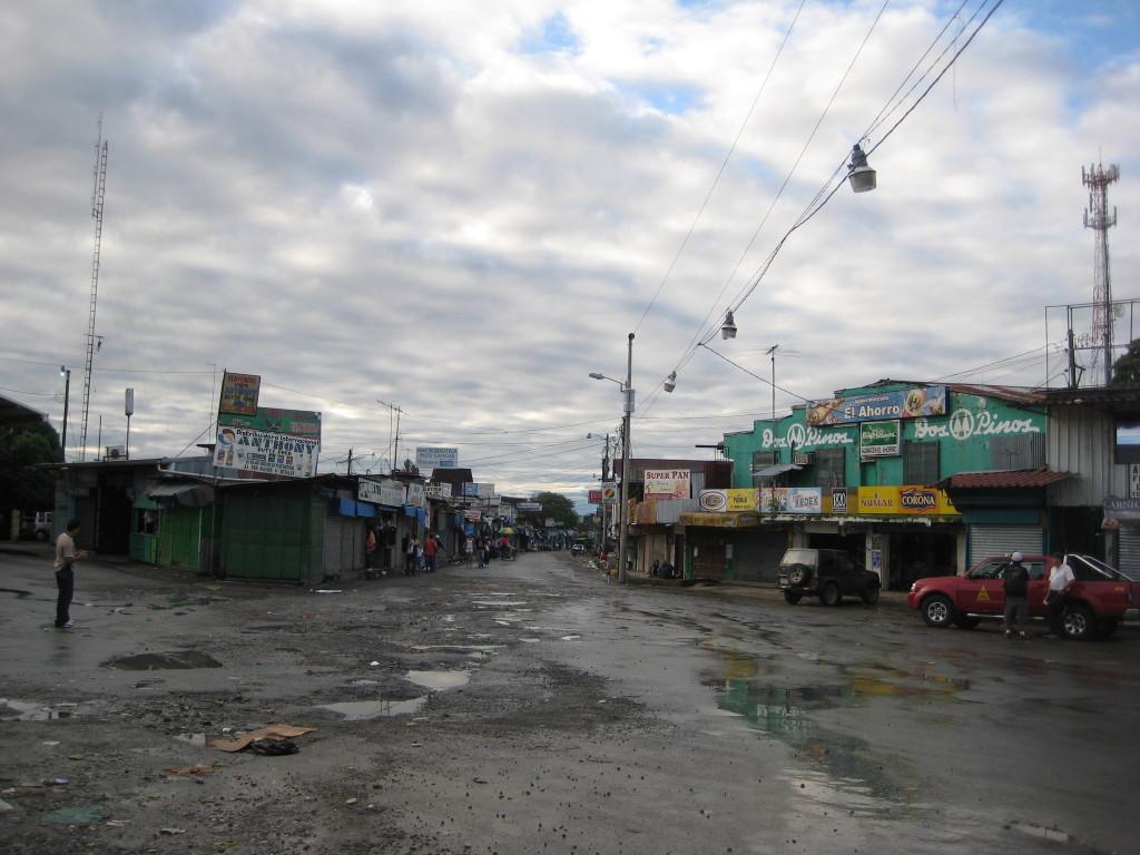 Hranice Kostarika - Panama 2009