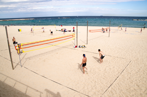 Skvělé Barcelonské pláže
