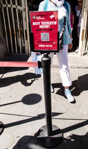 Wifi před Batlló