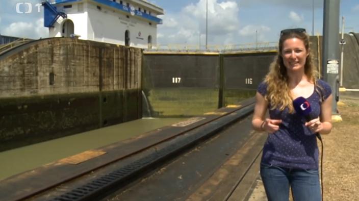 Panamský průplav Objektiv
