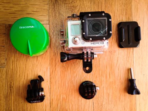 GoPro výroba minutka