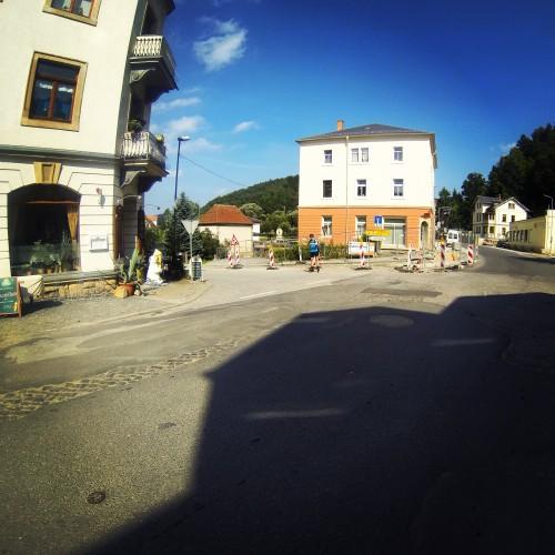 Odbocka v Bad Schandau