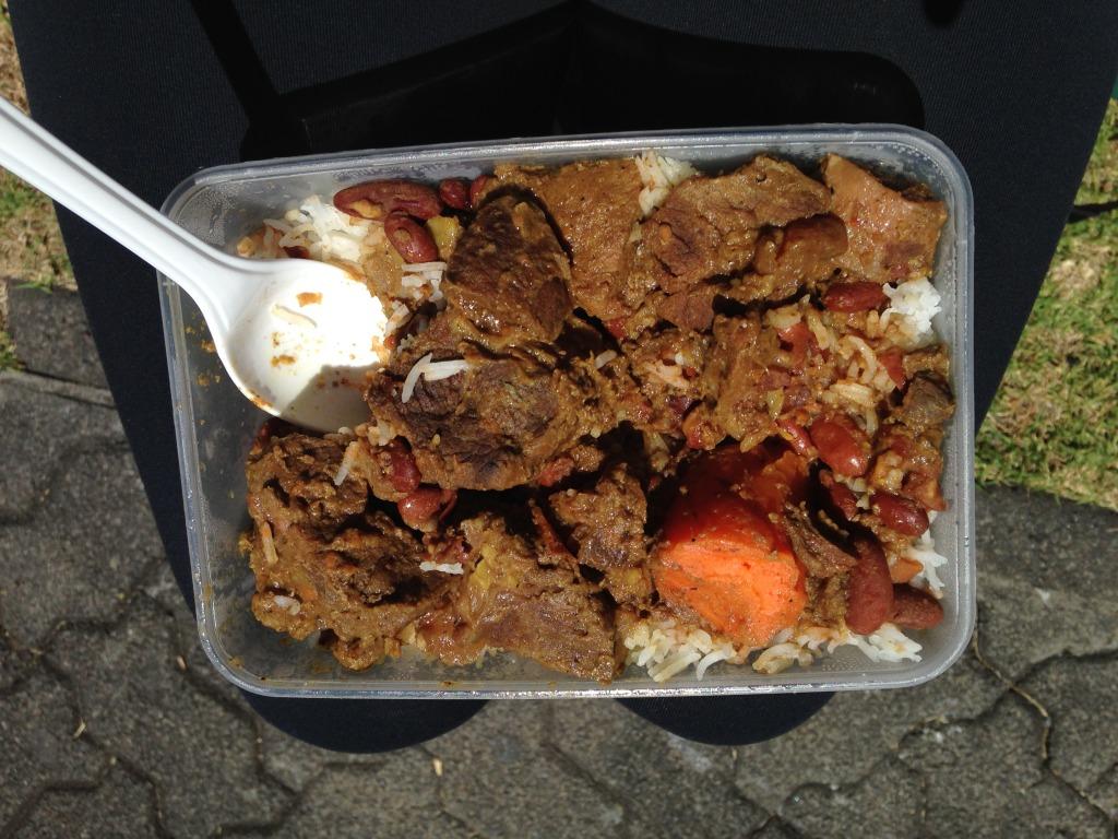 Typické kreolské jídlo - Réunion