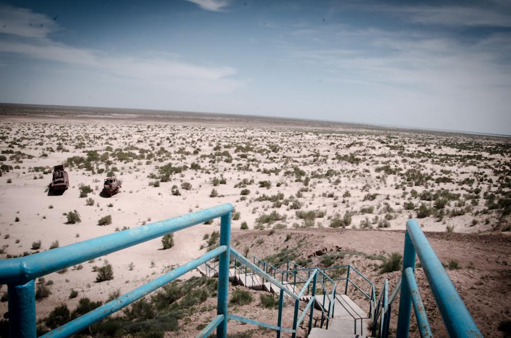 A jdeme se potápět ... Aralské jezero