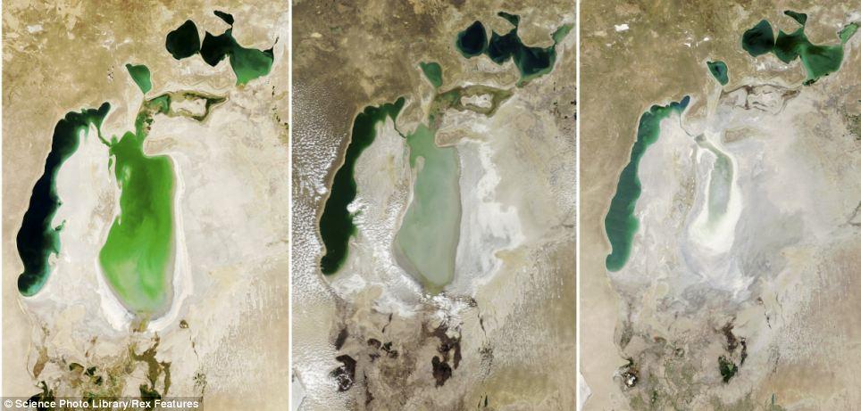 Aralske jezero srovnani 2