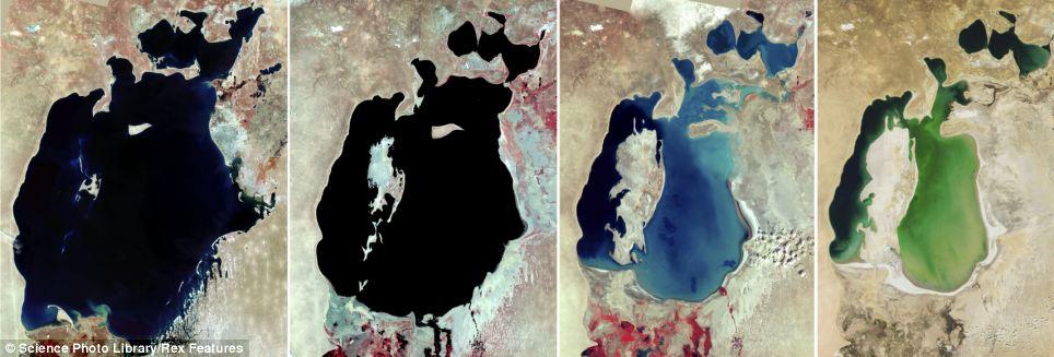 Aralske jezero sąrovnani 1