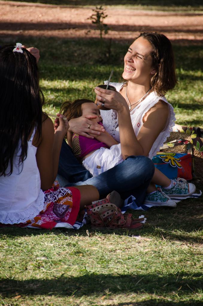 Odpoledne v parku s Yerba Maté