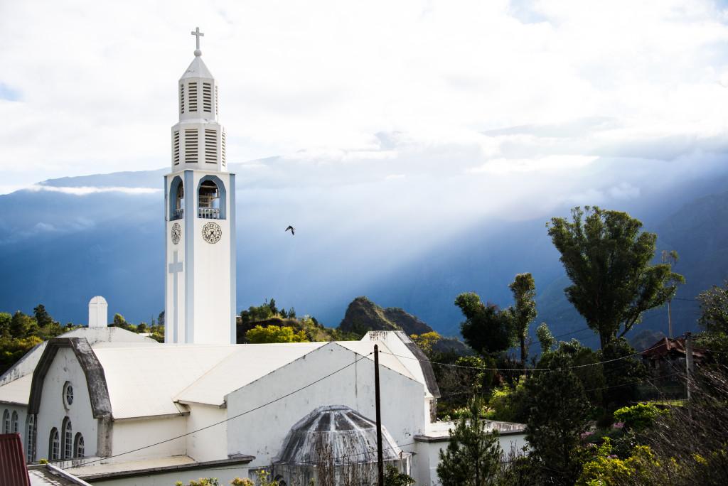 Cilaos kostel