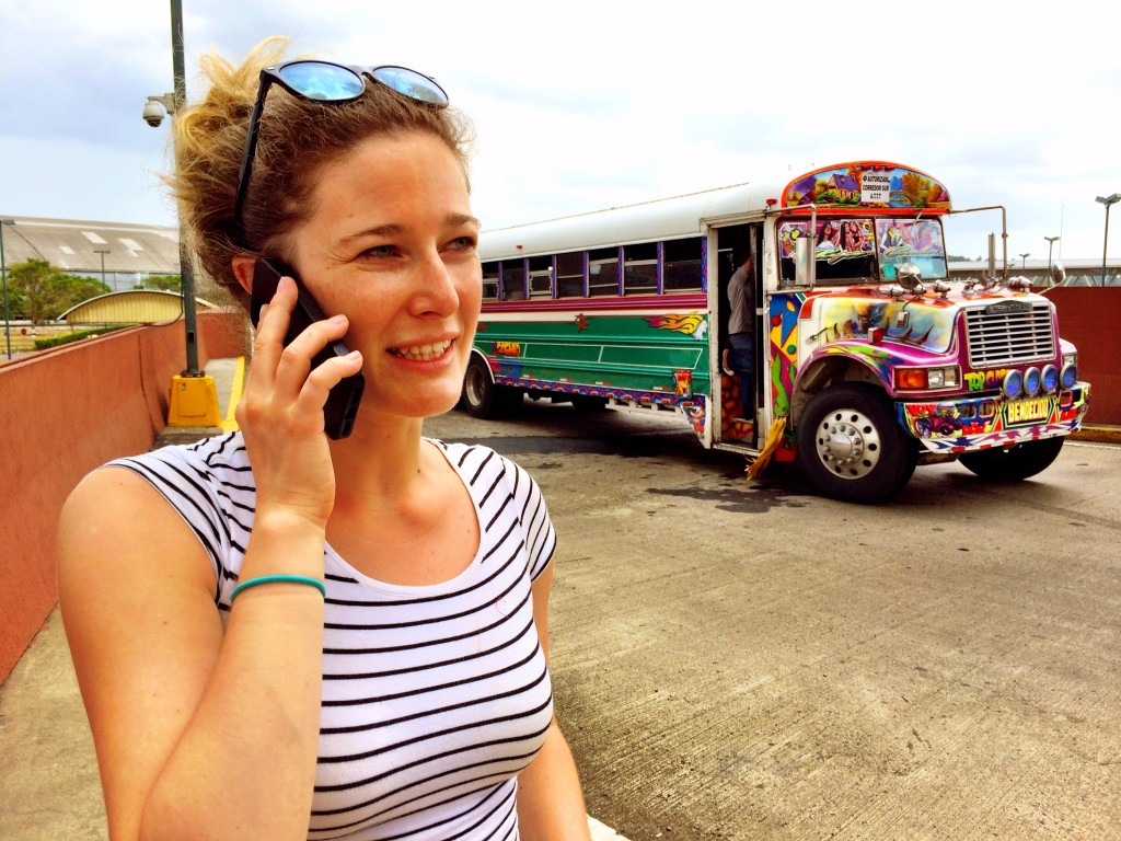 Panama Chicken Bus