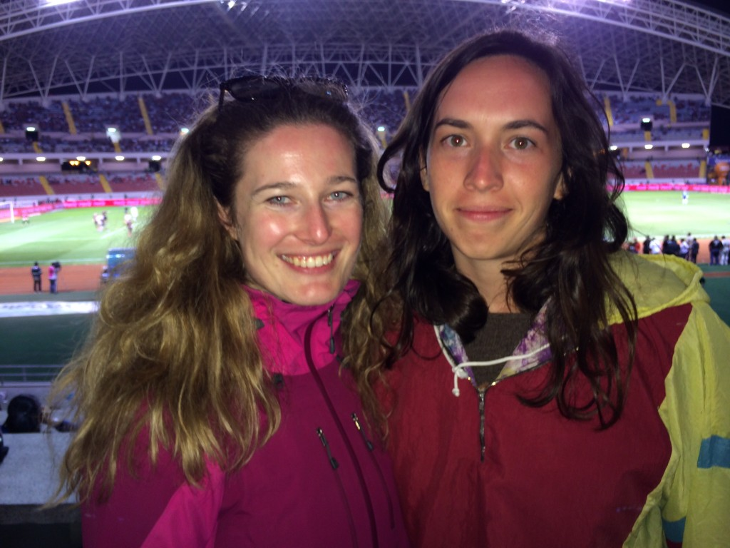 Kostarika Fotbalový Zápas