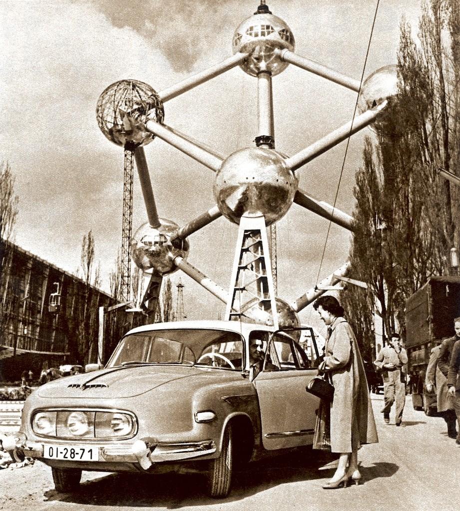 Atomium staré