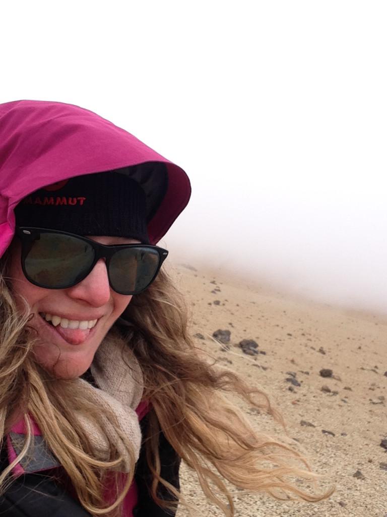 Sestup El Teide