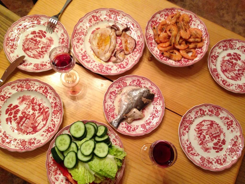 Naše španělské večeře