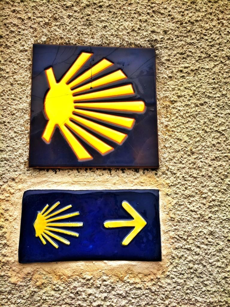 Santiago de Compostela značení