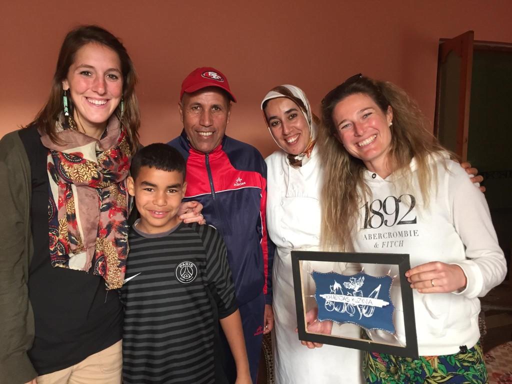 K Hadija a její rodina.