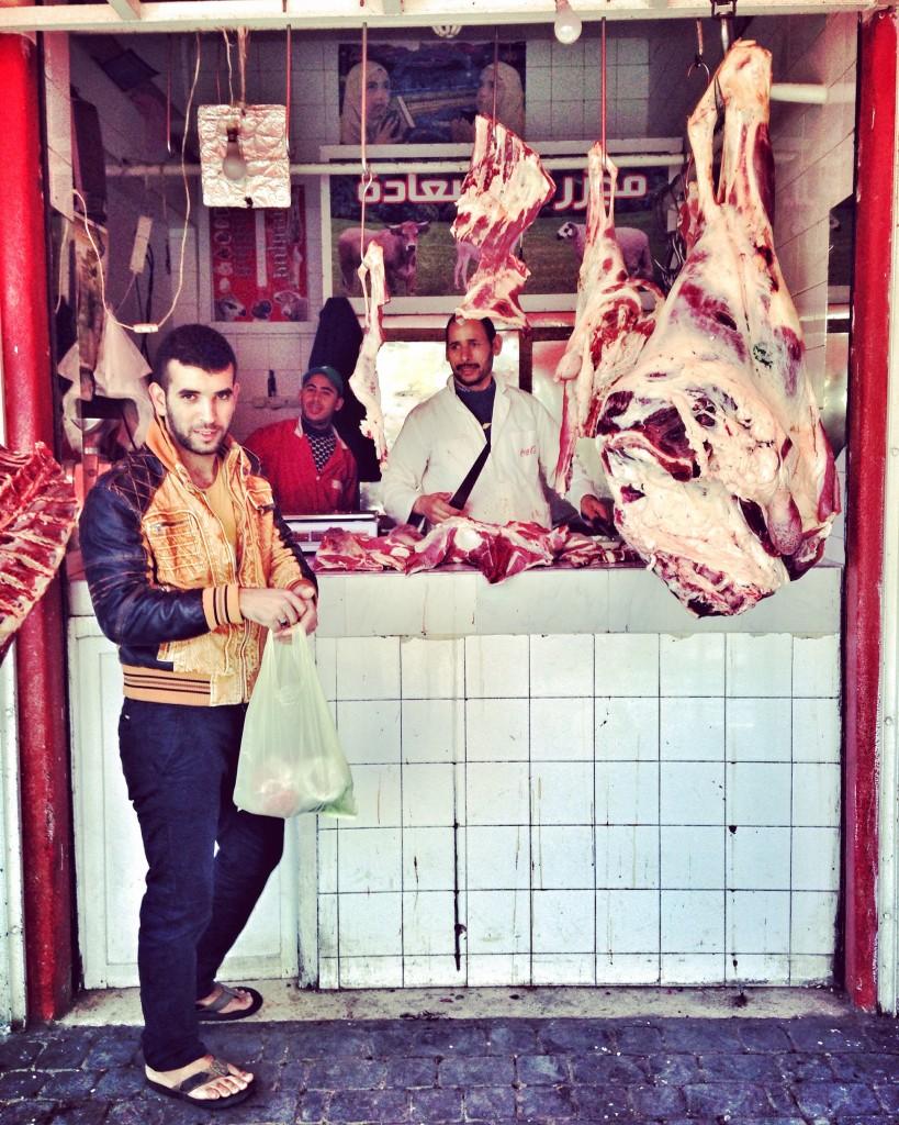 Maso od marockého řezníka.